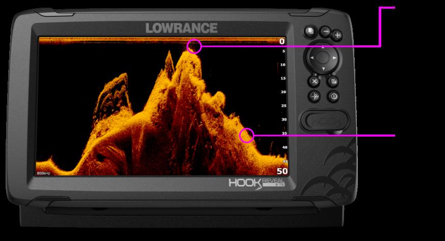 Fishfinders    Lowrance    Hook Reveal